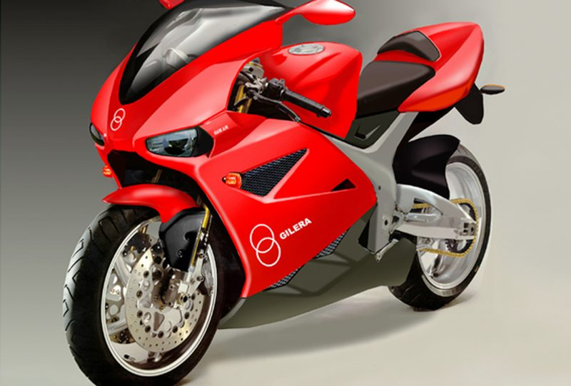 Anno 2001 - Gilera Supersport 600 - EICMA