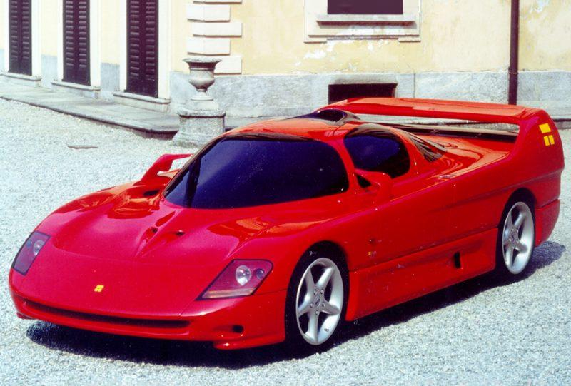 Anno 1992 - Triadesign Design concept Linx - Motor Show Ginevra
