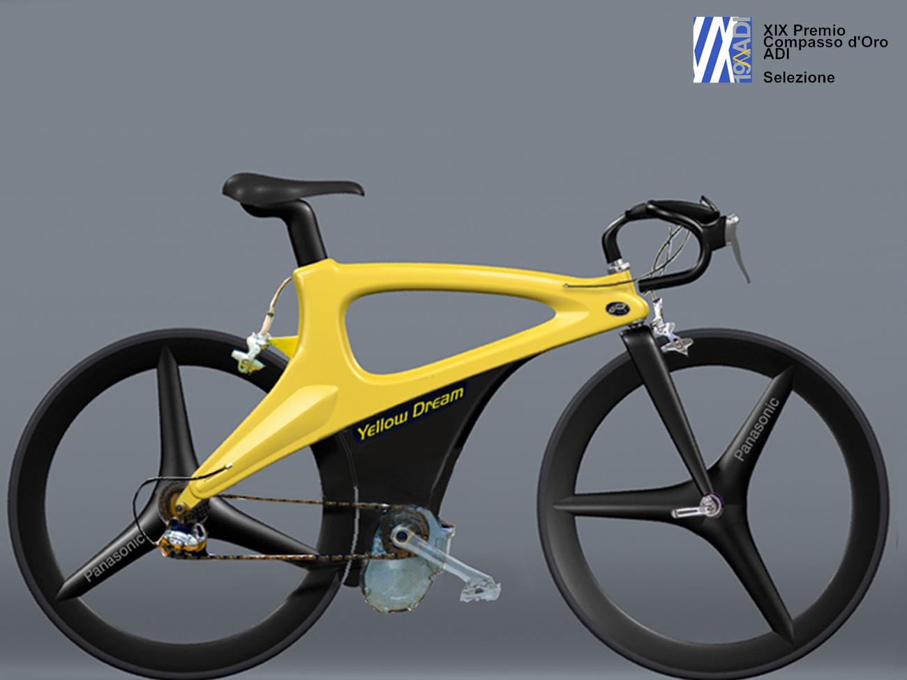PRIMA POWERBIKE Yellow Dream 1