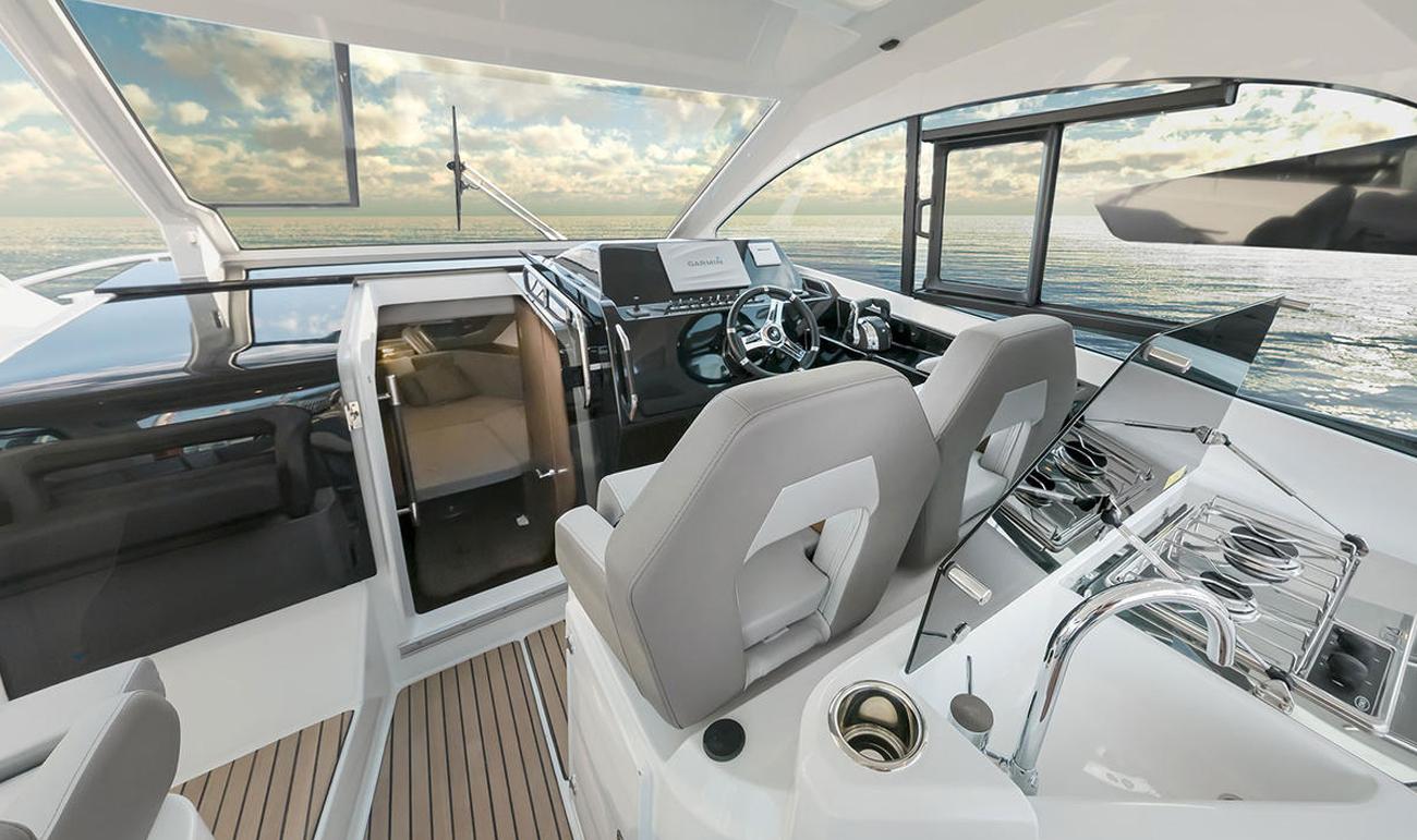 Beneteau GT 32 – dashboard
