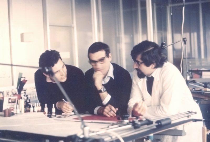 Anno 1973 - Pininfarina con Piero Stroppa e Diego Ottina