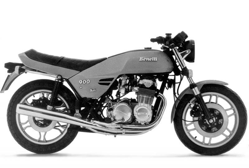 Anno 1978 - Benelli 900 Sei