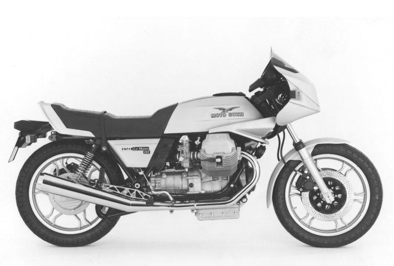 Anno 1980 - Moto Guzzi Le Mans 3