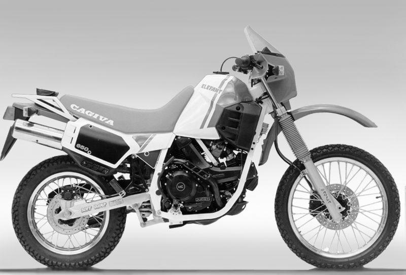 Anno 1985 - Cagiva - Ducati Elefant 850